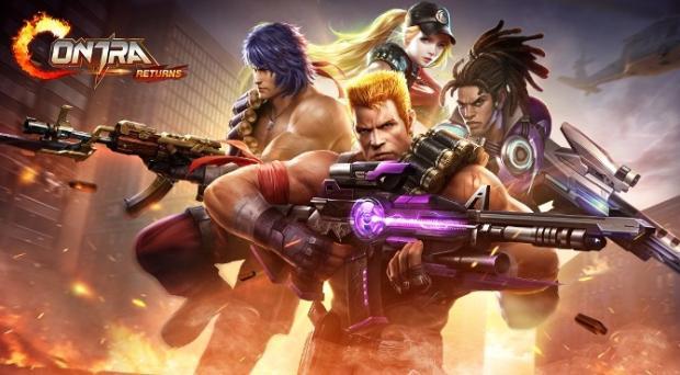 بازی Contra Returns