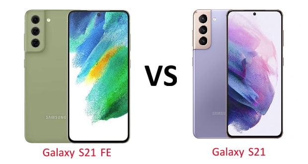 مقایسه گلکسی S21 با گلکسی S21 FE سامسونگ