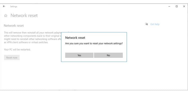 استفاده از ابزار راهاندازی مجدد شبکه (Network Reset Tools) - 3
