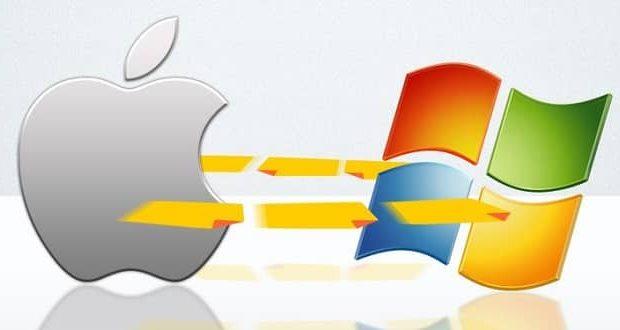 آموزش کامل انتقال فایل از مک به ویندوز
