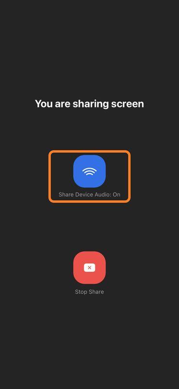 اشتراک گذاری صفحه نمایش در گوشیهای همراه