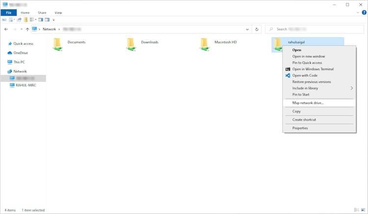 انتقال فایلها از مک به ویندوز - 4