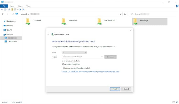 انتقال فایلها از مک به ویندوز - 5