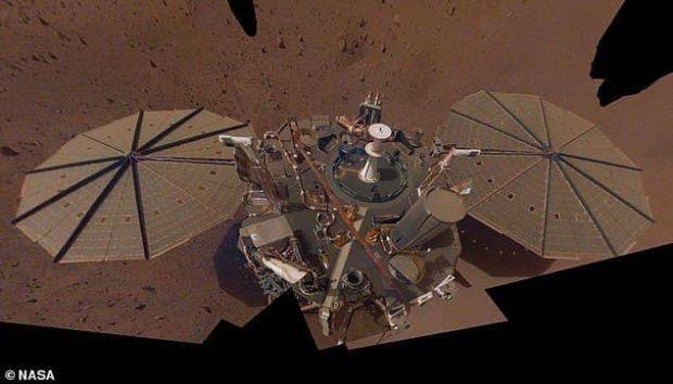 بزرگترین زلزله در مریخ