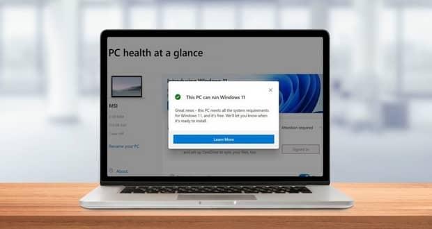 برنامه PC Health Check ویندوز 11