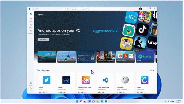 اپلیکیشن های ویندوز ۱۰ در ویندوز ۱۱