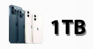 آیفون 1 ترابایتی اپل