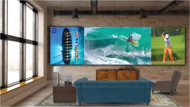 تلویزیون 325 اینچی ال جی