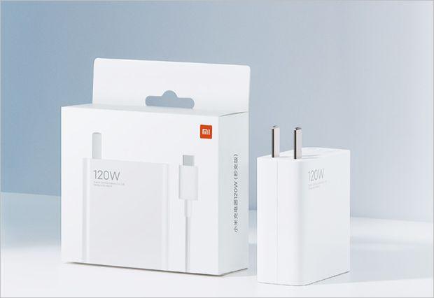 فناوری شارژ سریع ۱۲۰ وات شیائومی