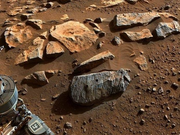 نمونه سنگ مریخی