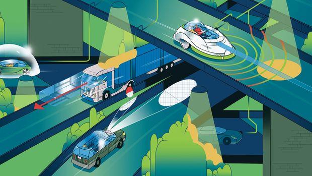 اتومبیل های خودران و شهرهای هوشمند